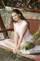 Yulia A - Yulia masturbating in the garden