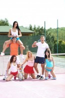 Lady D & Chrissy Fox & Ana Rose & Antonia Sainz in Tennis players having sex with fans gallery from CLUBSEVENTEEN