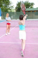 Anabelle & Chrissy Fox in Tennis player fucked by her coach gallery from CLUBSEVENTEEN