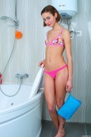 Flat Chested Teen Lola Getting Wet