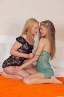 Lina A & Cayenne in Gorgeous Blonde Lesbians gallery from CLUBSEVENTEEN
