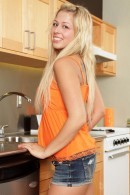 Zoey Monroe in Zoey Opens Her Pussy In The Kitchen gallery from CLUBSEVENTEEN