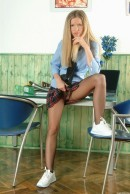 Marketa - Naughty Blonde Schoolgirl