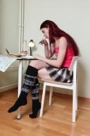 Schoolgirl Taking A Break To Masturbate