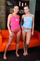 Peggy D & Liza B - Gorgeous Tight Body Lesbians