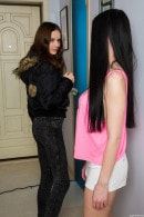Victoria J & Lucy U in Young Lesbian Girlfriends Toying Each Other gallery from CLUBSEVENTEEN