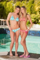 Brea Bennett & Denice K in 2 Frisky Blonde Hotties Making Out gallery from CLUBSEVENTEEN