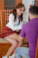 Naughty Schoolgirl Gets Her Ass Banged