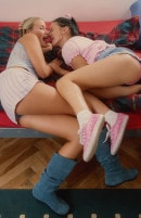 Lara A & Tamara H in Young Lara Toying Her Girlfriend gallery from CLUBSEVENTEEN
