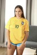 Olivia Nice in Hot Brazilian Football Fan gallery from CLUBSEVENTEEN
