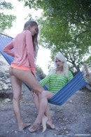 Milena D & Nika N in Camping gallery from CLUBSEVENTEEN