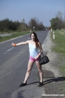 Charli Red in Young Hitchhiker With Great Big Ass Banged gallery from CLUBSEVENTEEN