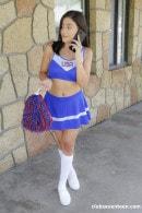 Cheerleader Gets Her Snatch Banged