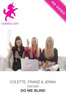 Jenna & Franziska in Do Me Blind Interview Off Set video from COLETTE by Brigham Field