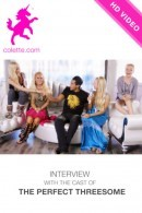 Aubrey & Franziska & Alex Grey - The Perfect Threesome Interview 2