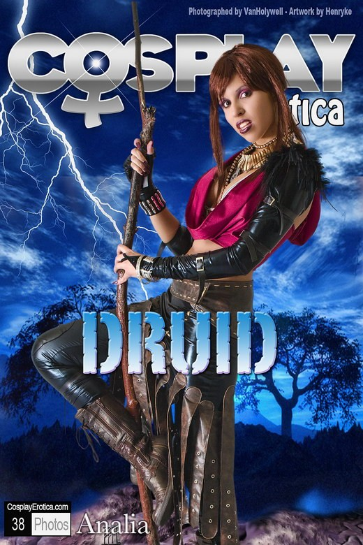 Analia - `Druid` - for COSPLAYEROTICA