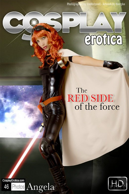 Angela - `The Red Side of the Force` - for COSPLAYEROTICA