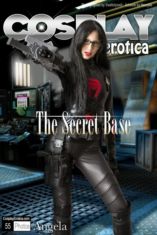 Angela - `The Secret Base` - for COSPLAYEROTICA