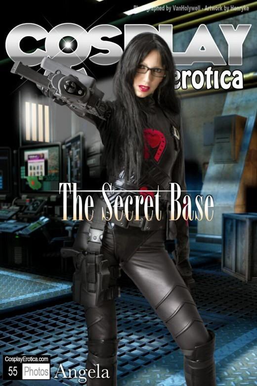 Angela - `The Secret Base` - for COSPLAYEROTICA