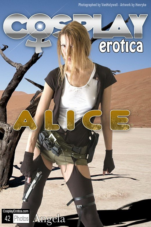 Angela - `Alice` - for COSPLAYEROTICA