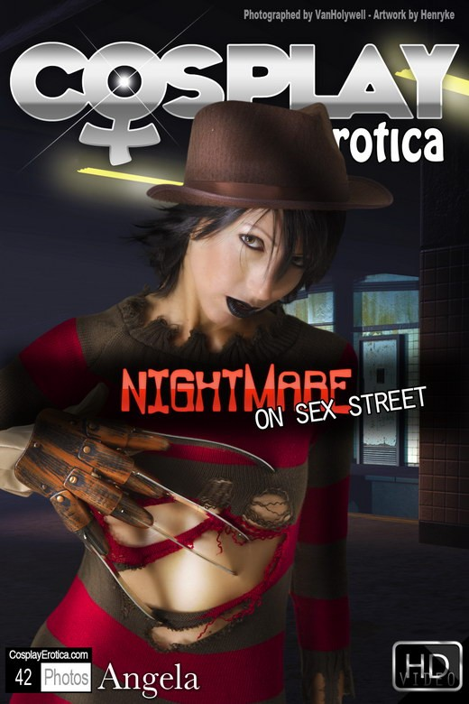 Angela - `Nightmare on Sex Street` - for COSPLAYEROTICA