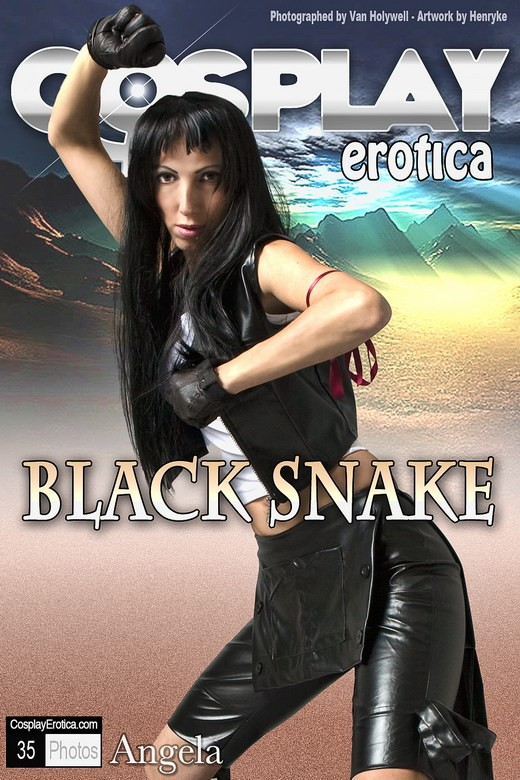 Angela - `Black Snake` - for COSPLAYEROTICA