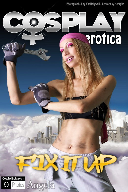 Angela - `Fix it Up` - for COSPLAYEROTICA