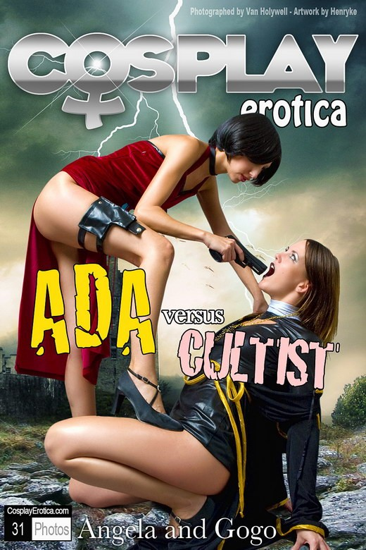 Angela & Gogo - `Ada & Cultist` - for COSPLAYEROTICA