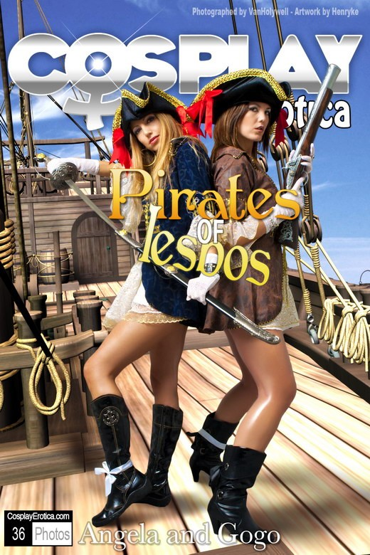 Angela & Gogo - `Pirates of Lesbos` - for COSPLAYEROTICA