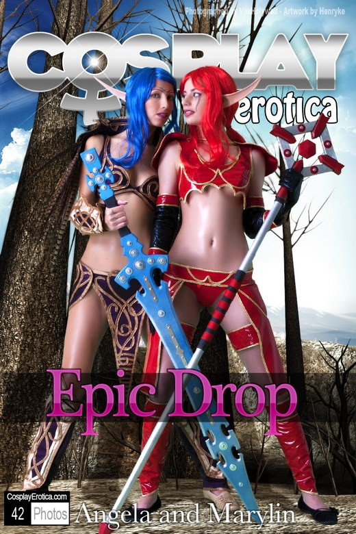 Angela & Marylin - `Epic Drop` - for COSPLAYEROTICA