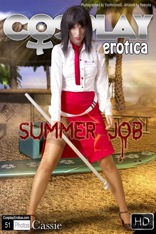 Cassie - `Summer Job` - for COSPLAYEROTICA