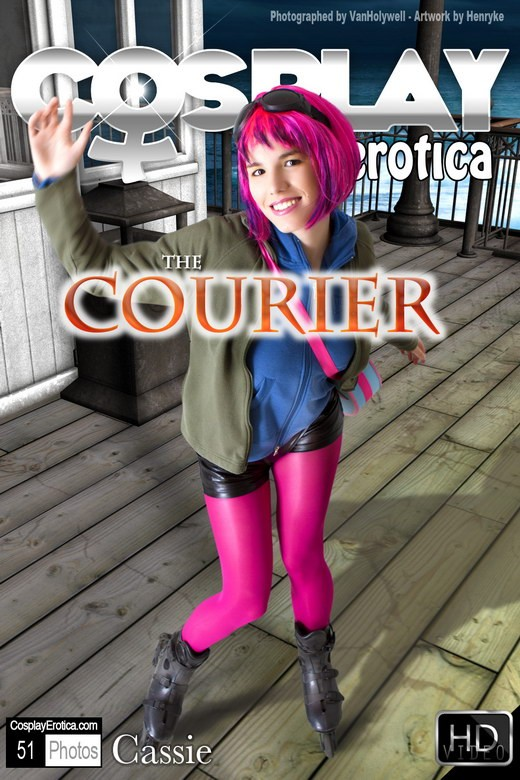 Cassie - `The Courier` - for COSPLAYEROTICA