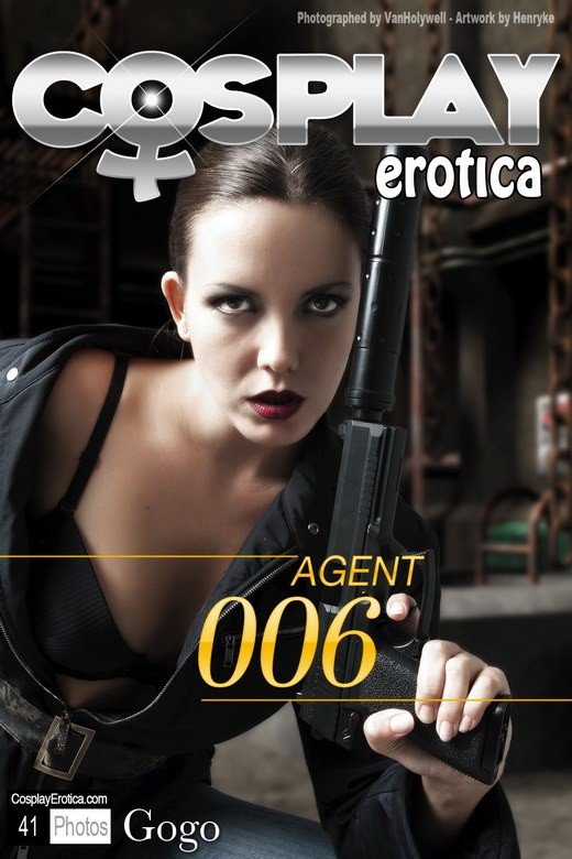 Gogo - `Agent 006` - for COSPLAYEROTICA