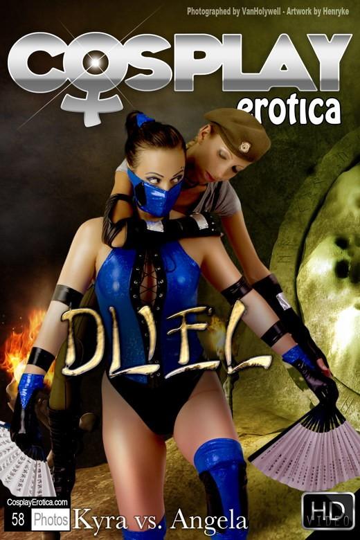 Kyra & Angela - `Duel` - for COSPLAYEROTICA