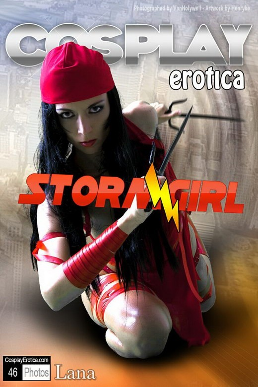 Lana - `Storm Girl` - for COSPLAYEROTICA
