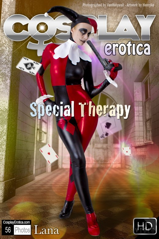 Lana - `Special Therapy` - for COSPLAYEROTICA