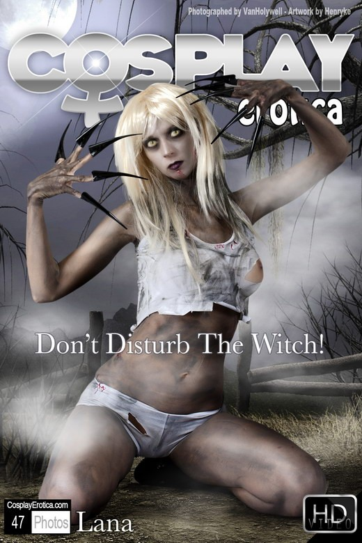 Lana - `Don't Disturb the Witch!` - for COSPLAYEROTICA