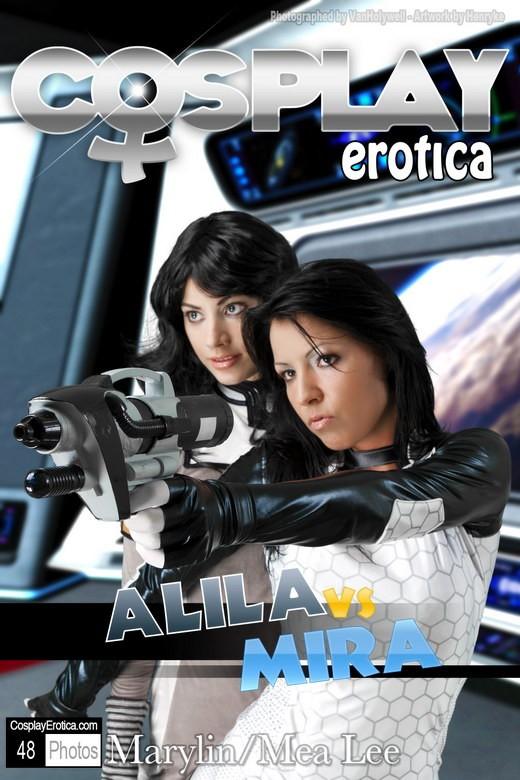 Marylin & Mea Lee - `Alila & Mira` - for COSPLAYEROTICA