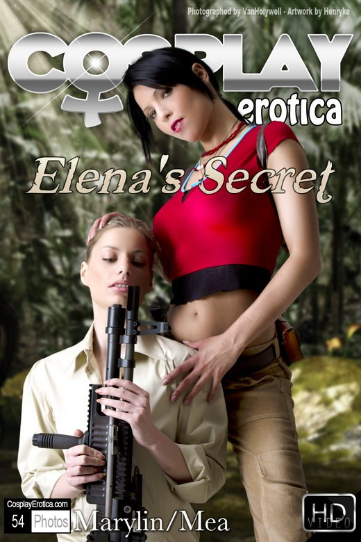 Marylin & Mea Lee - `Elena's Secret` - for COSPLAYEROTICA