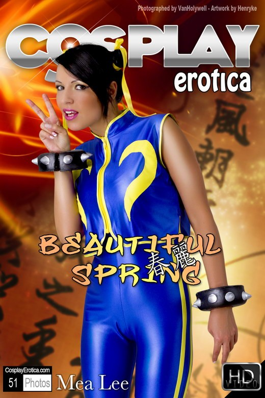 Mea Lee - `Beautiful Spring` - for COSPLAYEROTICA