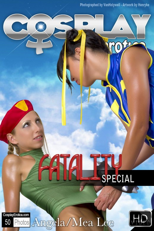 Mea Lee & Angela - `Fatality Special` - for COSPLAYEROTICA