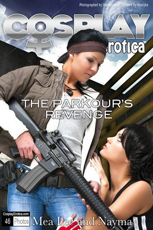 Mea Lee & Nayma - `The Parkour's Revenge` - for COSPLAYEROTICA