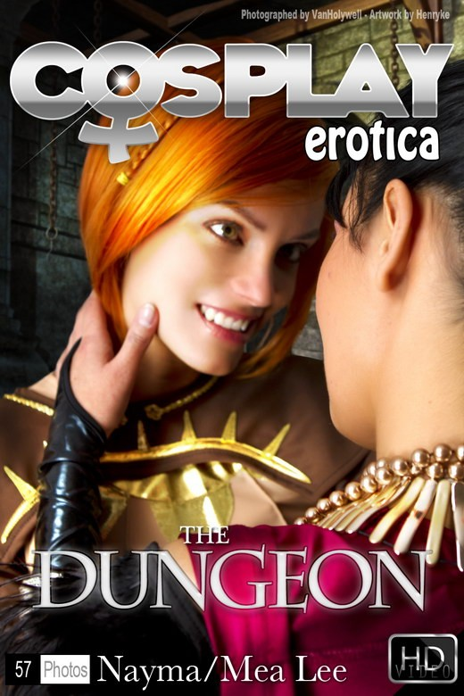 Mea Lee & Nayma - `The Dungeon` - for COSPLAYEROTICA