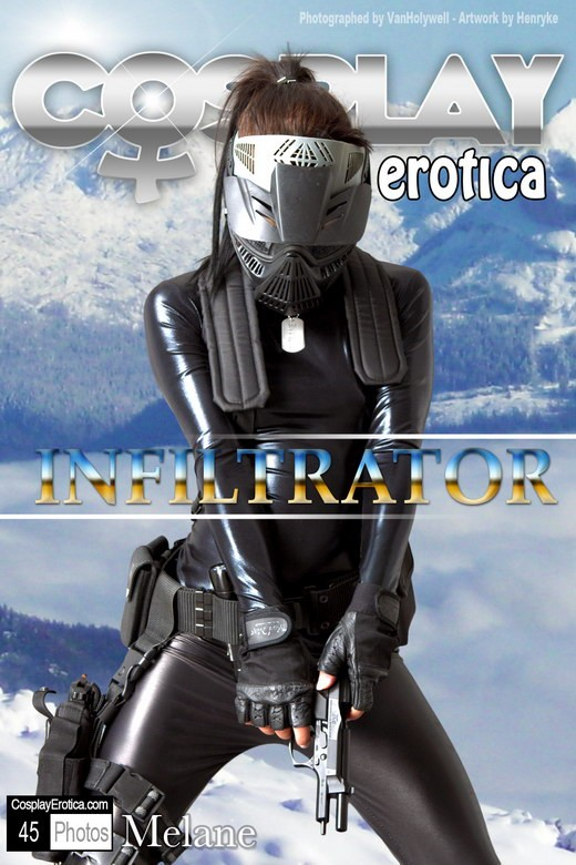 Melane - `Infiltrator` - for COSPLAYEROTICA