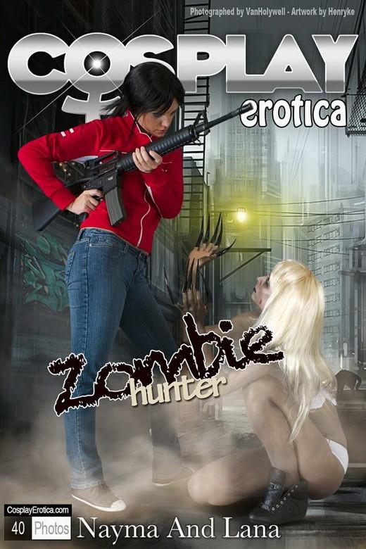 Nayma & Lana - `Zombie Hunter` - for COSPLAYEROTICA