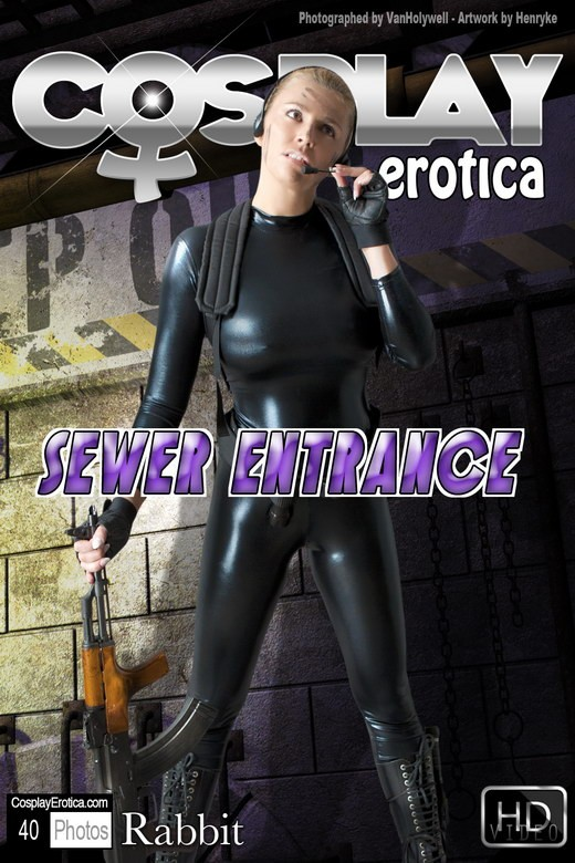Rabbit - `Sewer Entrance` - for COSPLAYEROTICA