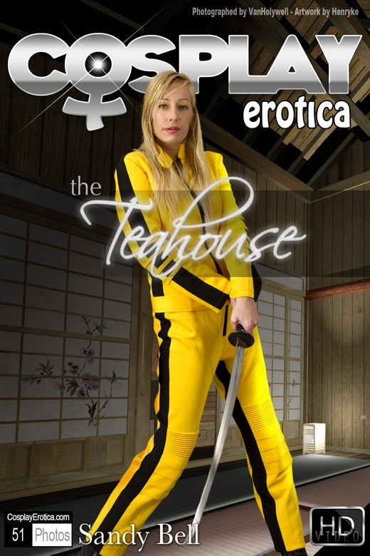 Sandy Bell - `The Teahouse` - for COSPLAYEROTICA