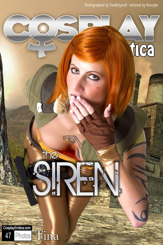 Tina - `The Siren` - for COSPLAYEROTICA