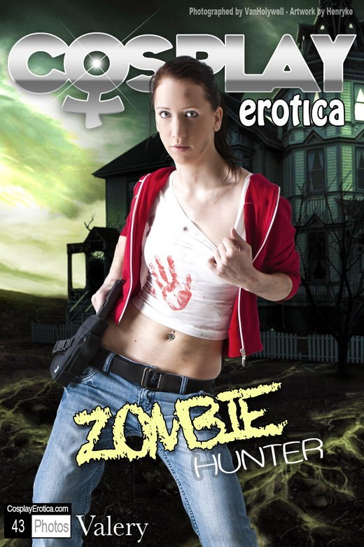 Valery - `Zombie Hunter` - for COSPLAYEROTICA