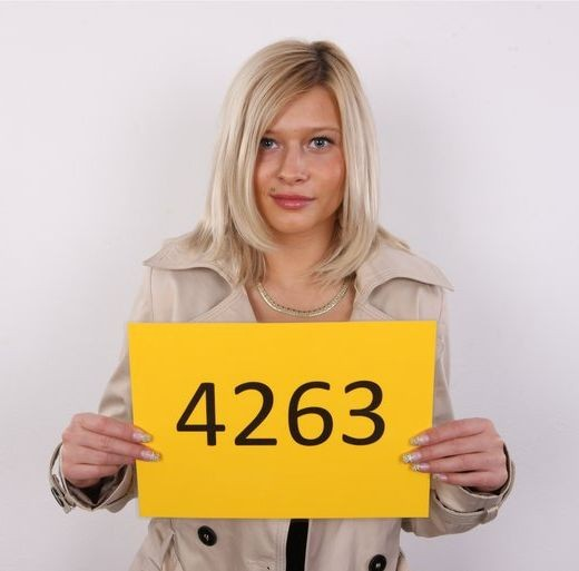 Barbora - `4263` - for CZECHCASTING